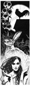 Illustration, Fabian Fröhlich, Fanny Morweiser, Das Medium