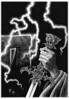 Fabian Fröhlich, Illustration, Wolfgang Hohlbein, Kevin von Locksley, Die Druiden von Stonehenge