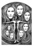 Fabian Fröhlich, Illustration, Dämonenland, Fritz Leiber, Spielball der Hexen