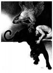 Fabian Fröhlich, Illustration, Dämonenland, Das Grauen von Chichen Itza