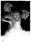Fabian Fröhlich, Illustration, Dämonenland, Damian Fox, Die Spur des Drachen