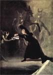 Francisco de Goya, Die Lampe des Teufels