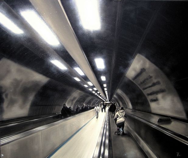 Fabian Fröhlich, London Underground, Jublilee Line