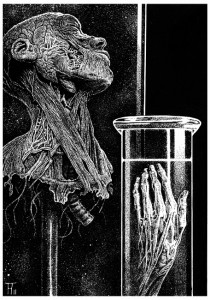 Fabian Fröhlich, Illustration, Markus Heitz, Kinder des Judas