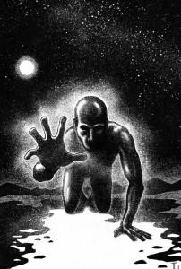 Vampira Band 13, Traumzeit-Dämonen, Innenillustration, Wondjina