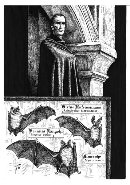 Fabian Fröhlich, Dämonenland, Hugh Walker, Drakulas Rache