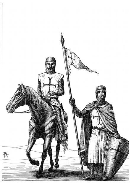 Fabian Fröhlich, Illustration, Wolfgang Hohlbein, Kevin von Locksley, Der Ritter von Alexandria