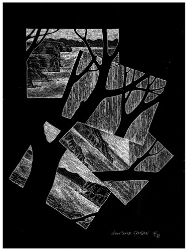 Fabian Fröhlich, Illustration, Christian Dörge, Unsichtbare Grenzen