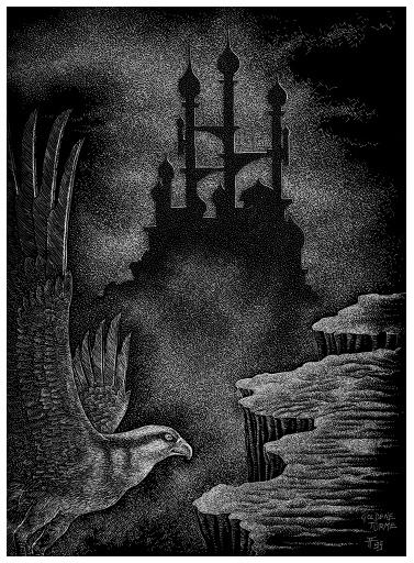 Fabian Fröhlich, Illustration, Christian Dörge, Goldene Türme