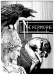 Fabian Fröhlich, Illustration, Edgar Allan Poe, The Raven