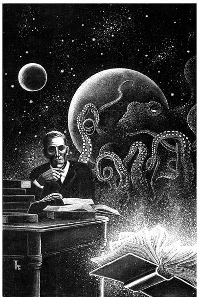 Fabian Fröhlich, Illustration, Frank Festa, Howard Philipps Lovecraft