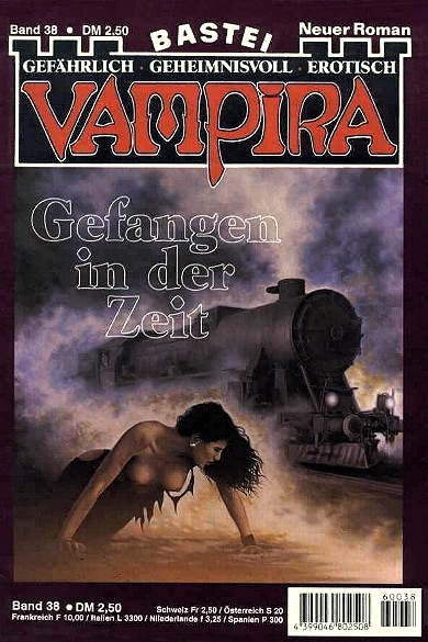 Vampira, Cover, Gefangen in der Zeit