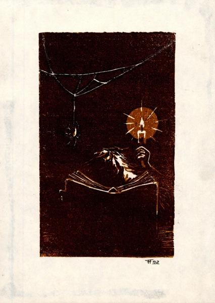 Fabian Fröhlich, Illustration, Howard Phillips Lovecraft, The Outsider