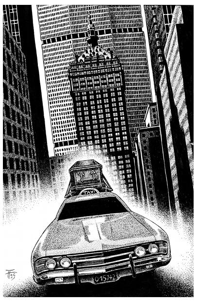 John Sinclair, Das Horror-Taxi von New York