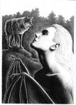 Fabian Fröhlich, Illustration, Dämonenland, James R. Burcette, Der Herr der Untoten