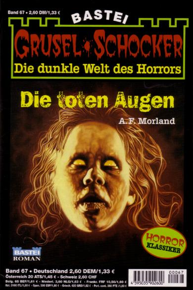 Gruselschocker, A. F. Morland, Die toten Augen