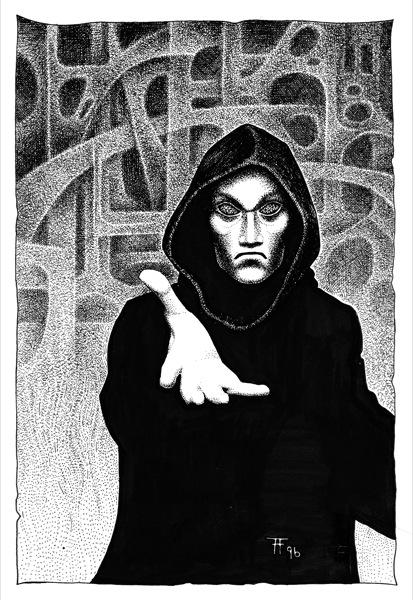 Fabian Fröhlich, Illustration, Wolfgang Hohlbein, Der Hexer von Salem: Das Labyrinth von London