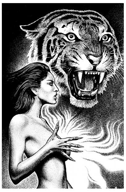 John Sinclair, Tigerfrauen greifen an