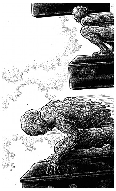 John Sinclair, Die Fliegenden Särge