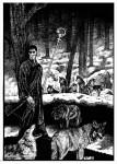 Fabian Fröhlich, Illustration, Professor Zamorra, Fenrirs Wacht