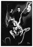 Fabian Fröhlich, Illustration, Professor Zamorra, Der lachende Tod