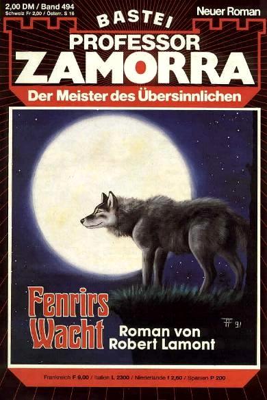 Fabian Fröhlich, Professor Zamorra, Fenrirs Wacht