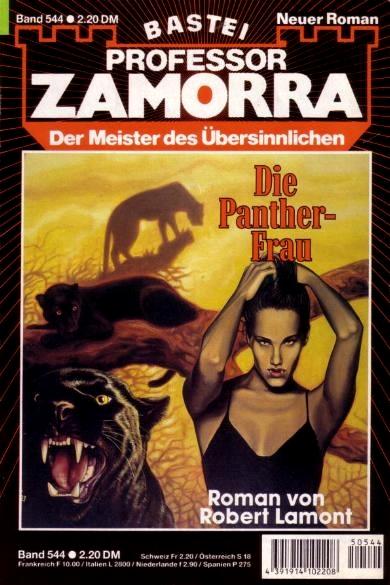 Professor Zamorra, Die Panther-Frau