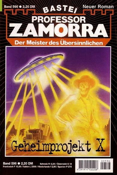Professor Zamorra, Geheimprojekt X