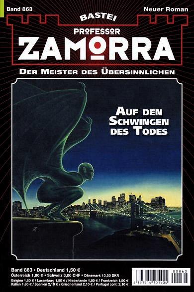 Fabian Fröhlich, Professor Zamorra, Auf den Schwingen des Todes