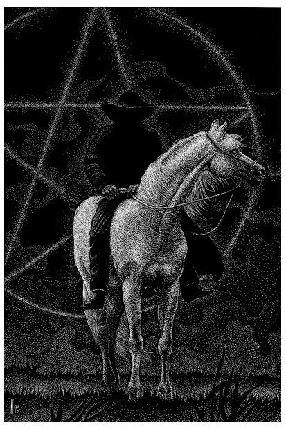 Fabian Fröhlich, Illustration, Hermann Dressler, Der Druidenschimmel