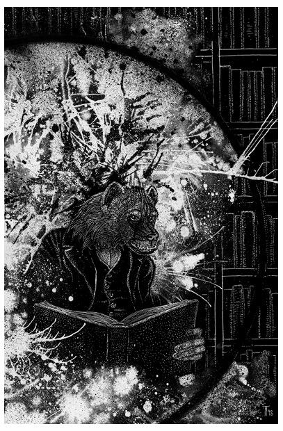 Fabian Fröhlich, Illustration, Heinz Stratz, Die Brille des Salvanio d'Armati