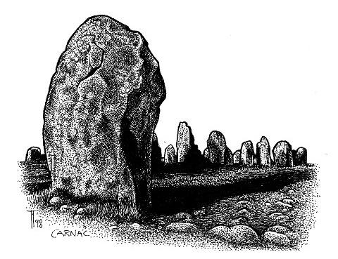 Fabian Fröhlich, Carnac, Illustration, Loewe, Hoevelmann