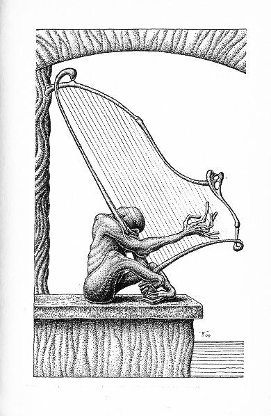 Helmut W. Pesch, Fabian Fröhlich, Illustration, Die Herren der Zeit