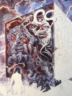 Vampira Band 13, Traumzeit-Dämonen, Acryl-Untermalung