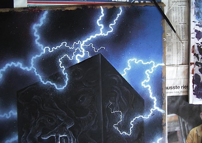 Vampira Band 13, Traumzeit-Dämonen, Blitze